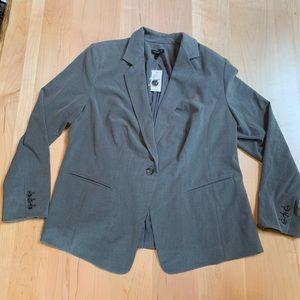 Grey Blazer / Suit Top